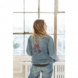 Beauty For Ashes Denim Jacket